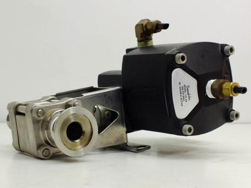 Swagelok Pneumatic Double Acting Actuator w/ Swagelok CF3M (135-DA)