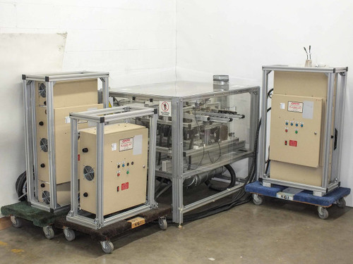 Corotec 10 Head PJ-4 Plastic Surface Treatment with Robotic Conveyor Plasma Jet