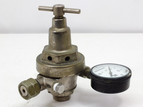 Matheson Standard Monel Gauge 0-100 PSI (0-700kPA) With Regulator (63-3312)