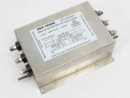 Hua Yeang High Current Line Filter for 3 Phase System Hua-9020-5010