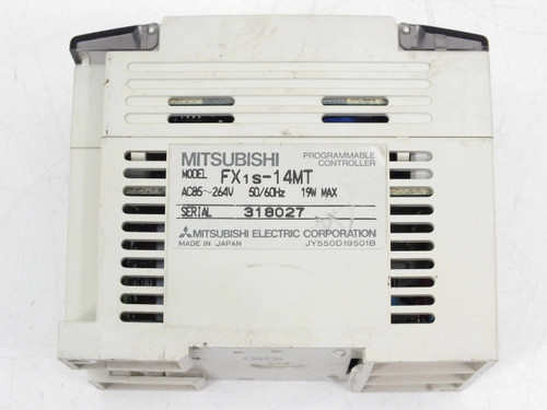 Mitsubishi Programmable Logic Controller (FX1S-14MT)