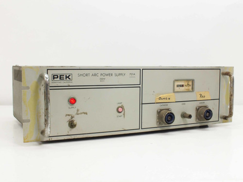 PEK Short Arc Power Supply 200 W Basic 701A Series 701A-1