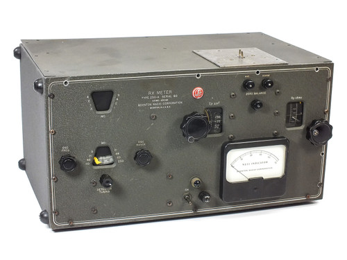 Boonton Radio Co RX Meter 0.5MC-250MC Vintage Serial number 60 250-A