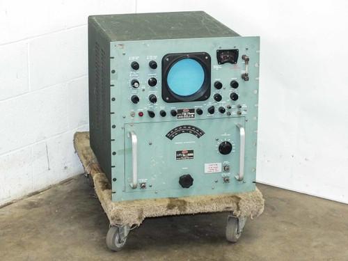 Polarad STU-2 BW RF Tuning Unit 910-4560 MC with DU-2 Display