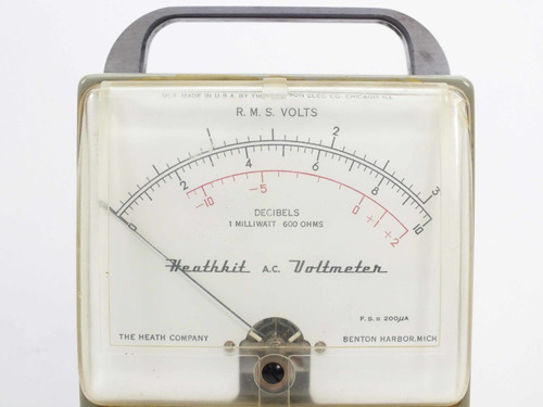 Heath Company Heathkit A.C. Voltmeter (AV-2)