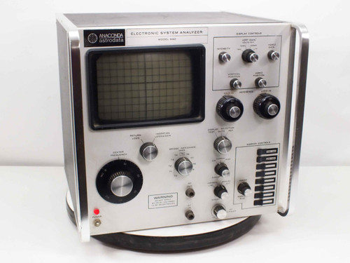 Anaconda Astrodata Electronic Systems Analyzer (Model 990)