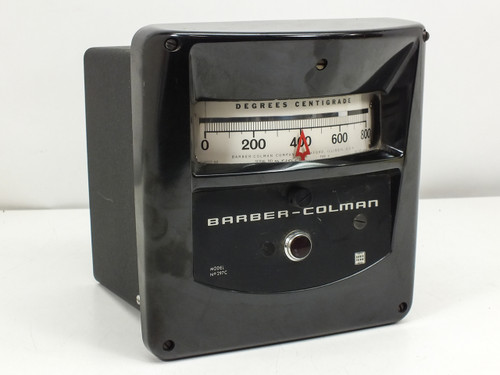Barber-Colman Temperature Control Meter (Model 297C)