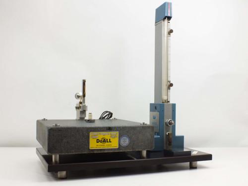 """Bendix Sheffield Precisionaire Column with DoALL 12"""" x 12"""" x 3"""" Granite Table"""