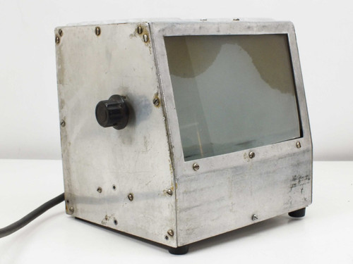 "Stainless Steele Adjustable Voltage Light Box (7"" x 4.5"")"