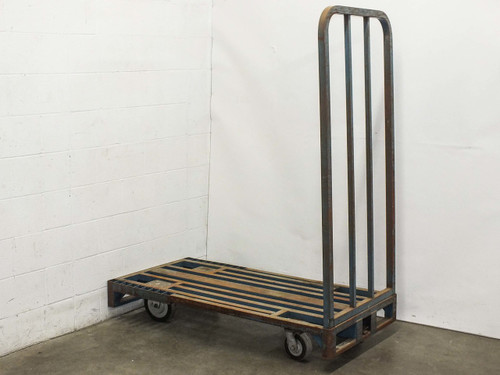 Cost Cutter Delivery Cart 29 by 59 -AS-IS Broken Weld and Bent Frame Industrial