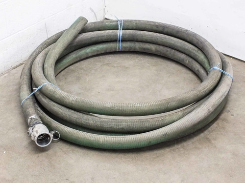 "PT 20D Aluminum Coupling Cam with 50' x 2"" Green Hose"