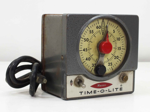 Master M-59 Time-O-Lite 60 Second Enlarging Darkroom Timer