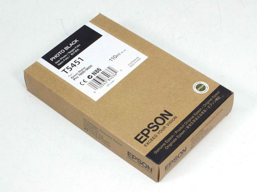 EPSON C13T545100 Photo Black 110ml Vol. Ink Cartridge