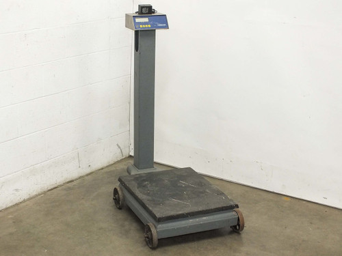 "Fairbanks 90-504 Digital Scale 5000LBS MAX with Mobile Platform 18"" x 24"" Plate"
