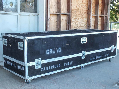 "Ascot 114"" x 36"" 34"" Superior Flight Shipping Trade Show Road Case"