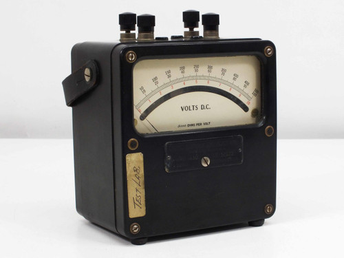 Weston Electrical  Voltmeter Meter 430