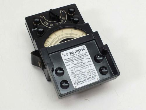 Weston Elec. Inst. Corp. Model 330 150VAC 1.5A 150Volt A.C. Voltmeter