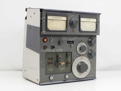 Svenska Radioaktiebolaget Circuit Magnification Meter TF 1245