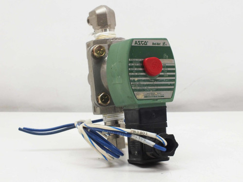 ASCO Solenoid Valve, General, 2 Way, 1/2 pipe 11.6 WATTS  SC8210G087