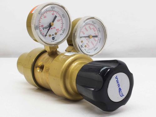 VWR Scientific Multistage Gas Regulator with Neoprene Diaphragm 0-125 PSI