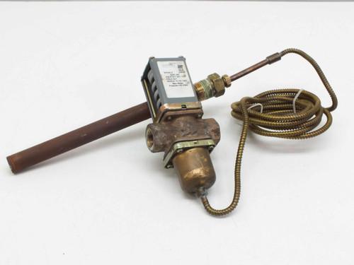 "Johnson Controls V47AA-3 Temperature Actuated Modulating Water Valve 3/8"" NPTF"