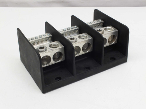 Ilsco PDB-212-500-3 Dual Rated Power Distribution Block 3-Pole 600V 760A