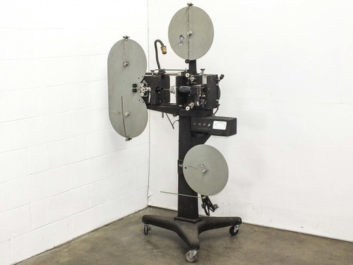 16mm Film Projector with G.E. 1/4 HP AC Motor