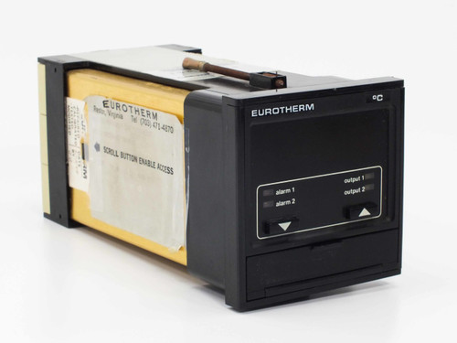 Eurotherm 810/PAP/00/K/0-400C/SPS/S// Temperature Controller with Digital Displa