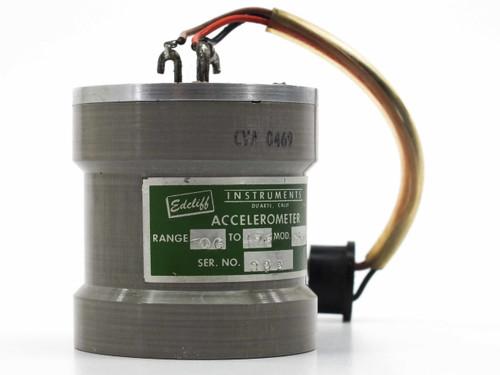 Edcliff Instruments 7-11 Linear Accelerometer 0 - 17.5 G