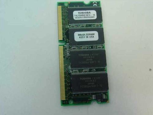 Toshiba Memory 64MB THLY648021BFG-10 (Laptop)