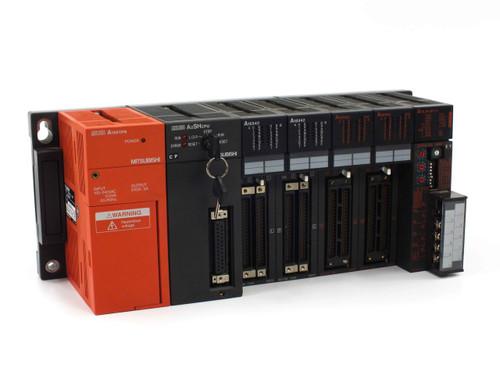 Mitsubishi A2SHCPU Melsec PLC with A1S61PN A1SX42 A1SJ61BT11 Modules