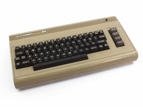 Commodore 64 Computer System Without AC Adapter (Vintage)