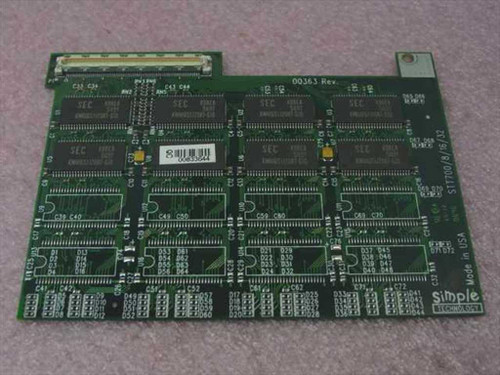 Toshiba 16MB Toshiba Memory Upgrade Tecra 700CS (PA2036U)