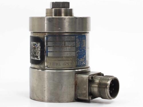 Teledyne Taber  206 Pressure Transducer 0-1500 psi - 350 Ohms
