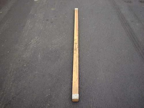 U.S. Tucker/ Poles 7' Long 2 1/2 x 1 1/2 (Ridge)