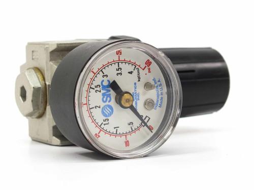 SMC NAR2000-N02 Air Pressure Regulator with Gauge