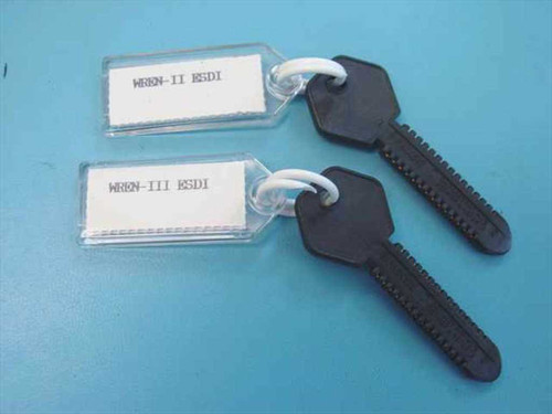 Bell Atlantic ESDI Rom Keys Set of 2 keys for MDT Tester (ESDI Rom Keys)