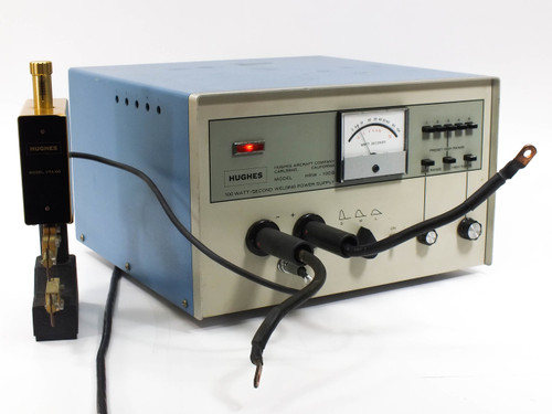 Hughes HRW-100B 100 Watt-Second Welding Power Supply with VTA-60 Precision Head