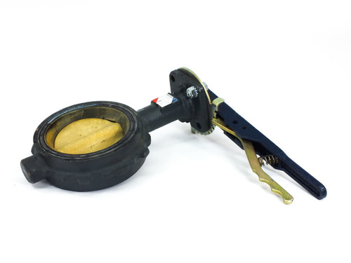 "Nibco WD3010 4"" Butterfly Valve Ductile Iron Wafer Type 250 PSI"