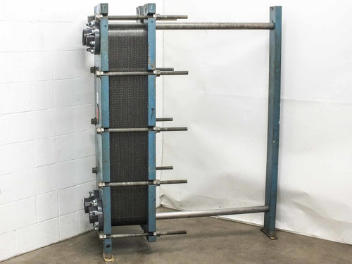 Mueller Accu-Therm AT40 F-20 68 Plate Heat Exchanger 167 PSI Frame Type