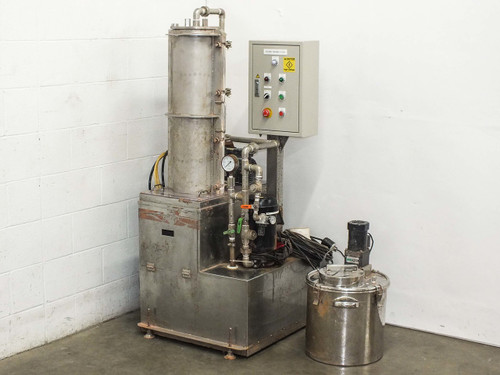 Custom SS Effluent Treatment System w/ Vacuum Pump and Induction Motor
