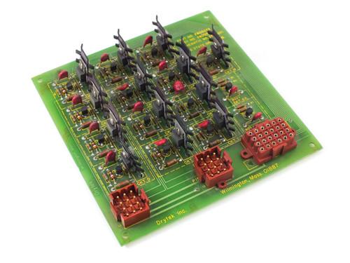 Drytek Solid State Driver Board Drytek 100S Plasma Wafer Etcher 2800074 2800072