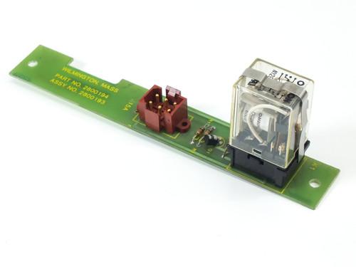 Drytek Switch Board from 100S Plasma Wafer Etcher 2800193 MLA 94V-040/83 2800194