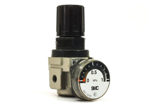 SMC AR1000-M5BG Mini Regulator 0.05-0.7 MPa with Pressure Gauge 0-1 MPa
