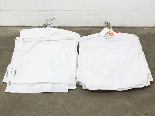 Prudential 520 900 80 NOG ONE Cleanroom Garment Bags Lot of 76