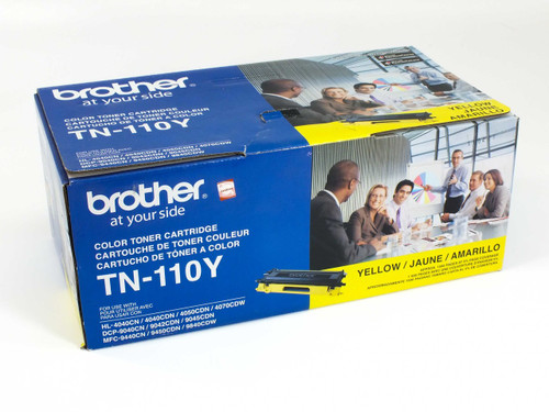 Brother TN-110Y Yellow Color Toner Cartridge