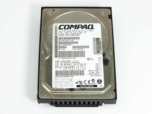 """Compaq 163587-002 18.2GB SCSI 3.5"""" HDD 10000RPM Wide Ultra 3 SCSI"""