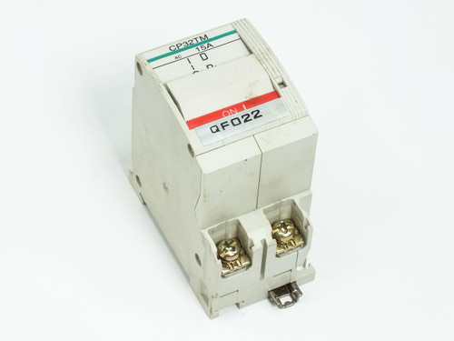 Fuji Electric Circuit Protector / Breaker 15 Amp 2-Pole CP32T-M015 CP32TM/15