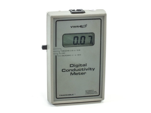 VWR International TRACEABLE Digital Conductivity Meter 23226-501