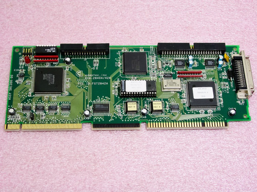 Adaptec AHA-2842A 80-Pin SCSI and Floppy Disk Drive Controller Card VL-SCSI